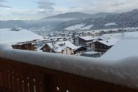 Chalet in Austria, Flachau: view from bedroom balcony