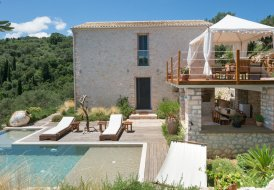 Villa in Sinies, Corfu