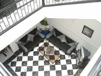 House in Morocco, Ennakhil: The Bahu as seen from above