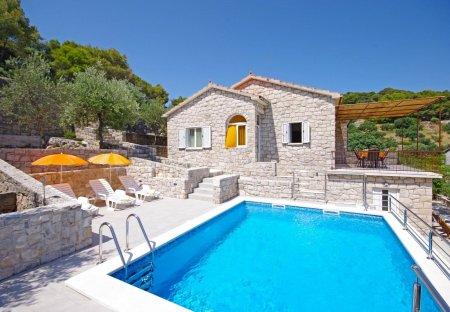House in Postira, Croatia