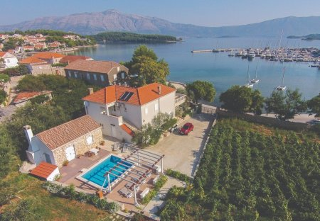House in Lumbarda, Croatia
