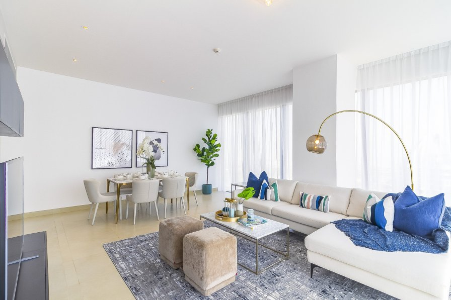 Owners abroad High Floor I Full Marina View 3Bed in Marina Gate #38