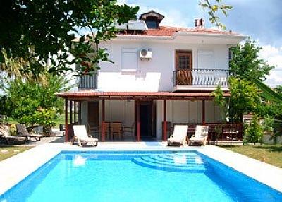 Villa in Turkey, Dalyan: Garden and Pool