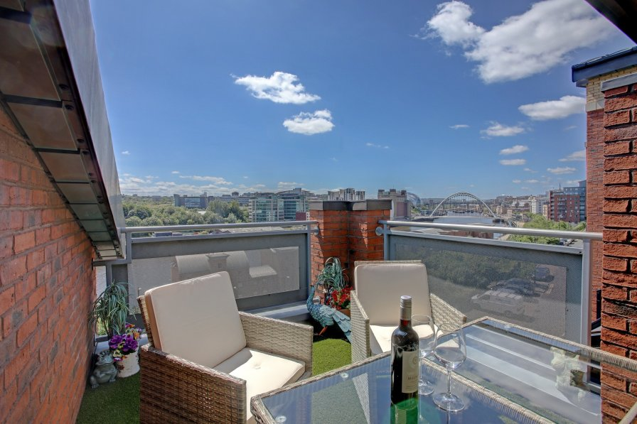 Owners abroad Beautiful penthouse - roof garden, views, parking
