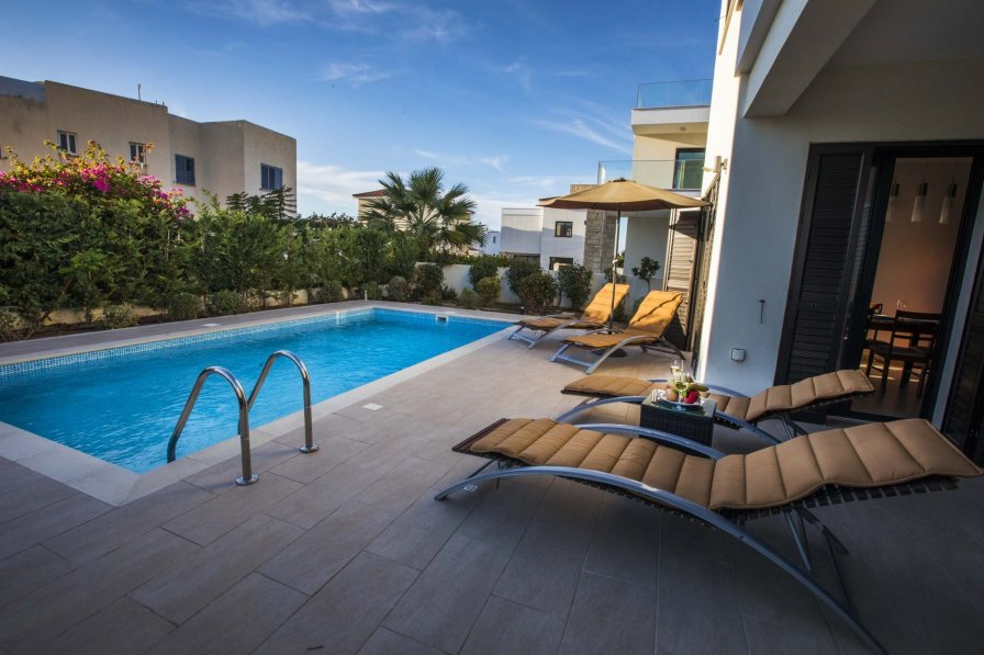 Owners abroad Golden villa 5/24. Modern 3 bedroom beach villa with private pool