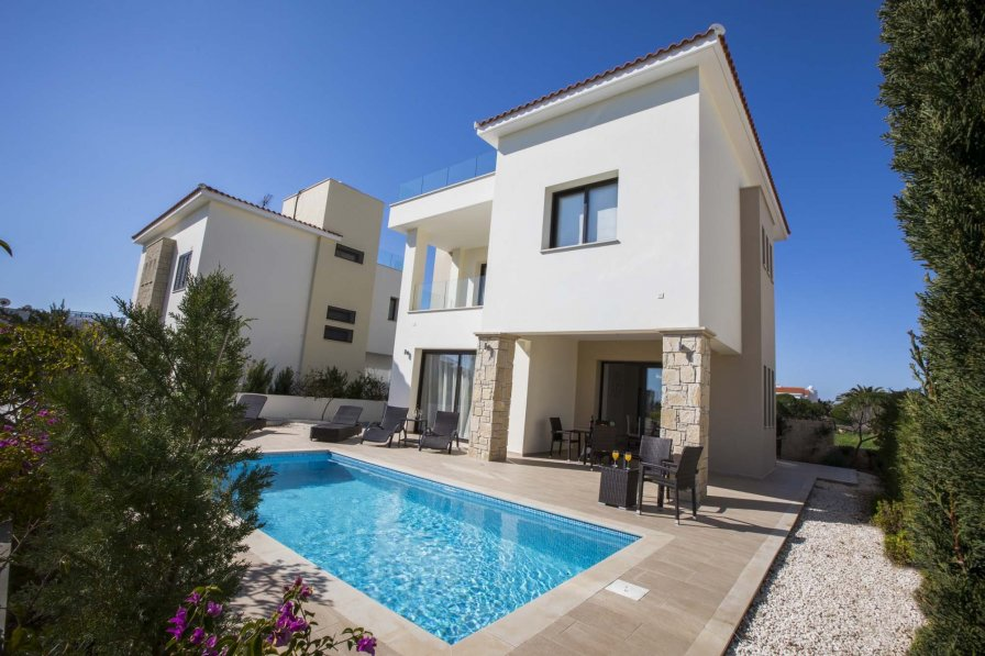 Owners abroad Golden seaside villa 2. Modern 3 bedroom beach villa.