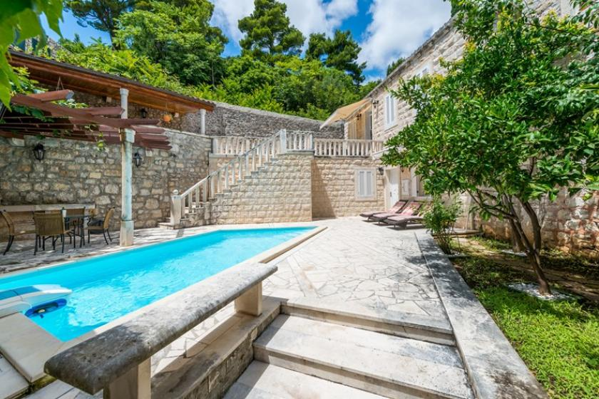 Villa To Rent In Dubrovnik Croatia With Private Pool 32319