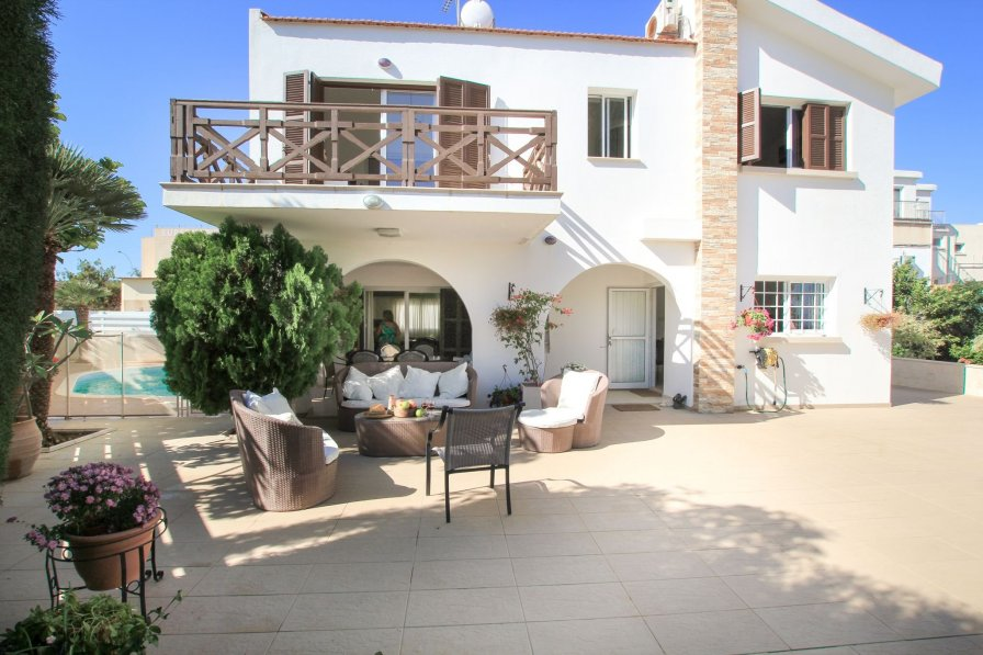 Owners abroad Holiday villa in Protaras, Cyprus, with swimming pool