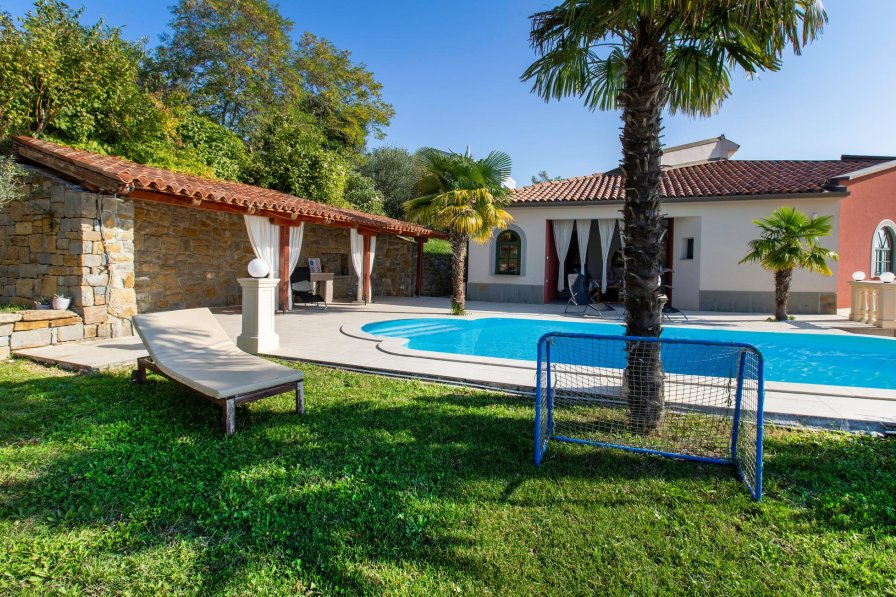 Owners abroad Villa with swimming pool in Kolomban, Slovenia