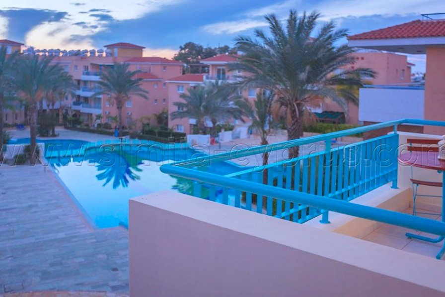 Owners abroad 2 Beds Pool view Apt. in Iris Village Complex, Kato Paphos