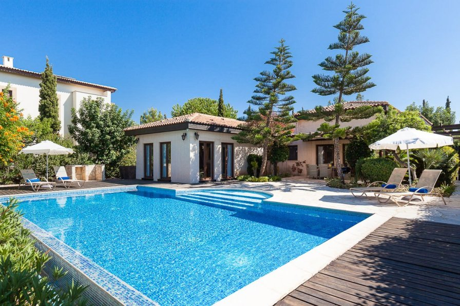 Owners abroad Villa Loukoumi