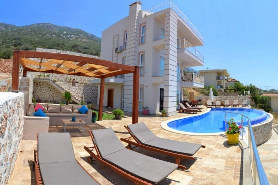 Owners abroad Beautiful 5 bedroom villa with spectacular views over Kalkan Bay