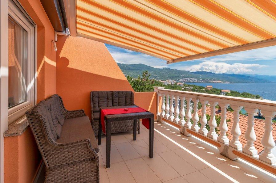 Apartment in Croatia, Povile