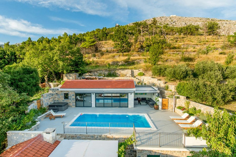 Villa in Croatia, Donje Sitno
