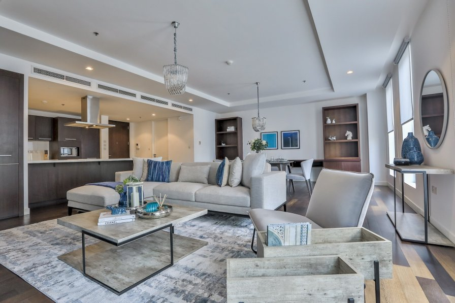 Owners abroad NEW! Spacious furnished apartment 1 BR in Limestone DIFC