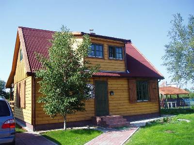 House in Poland, Kolobrzeg: Front of The House