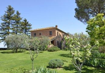 5 bedroom Villa for rent in Montepulciano