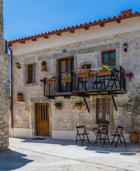 Village house in Greece, Miron