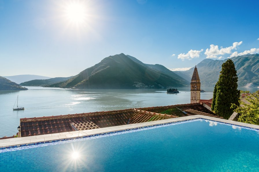 Owners abroad Perast Sea views, 3 bedrooms & a private pool