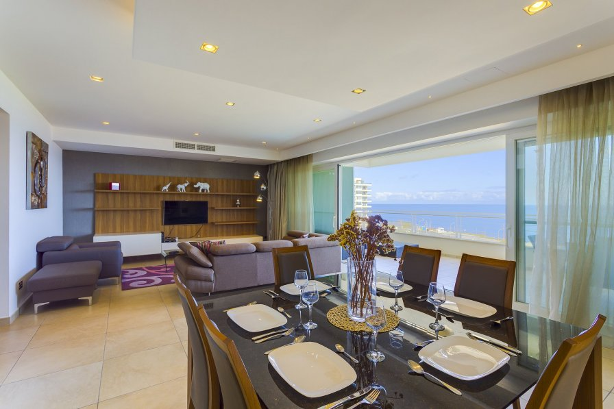 Owners abroad Luxury Seafront Oasis in central Sliema w/ Pool