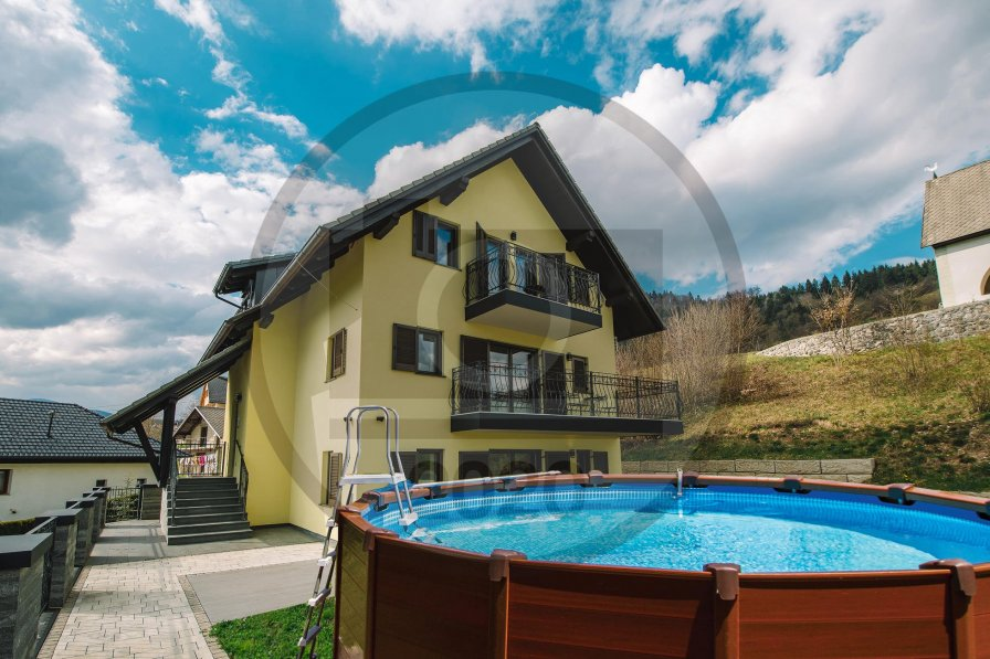 Owners abroad Studio rental in Zasip, Slovenia, with shared pool