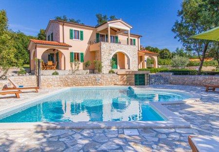 Villa in Stanišovi, Croatia