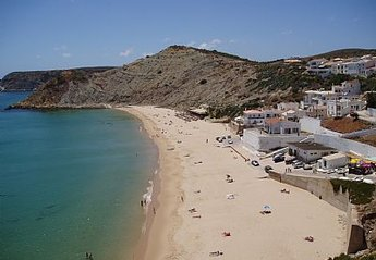 Villa in Portugal, Burgau: Glorious Burgau Beach
