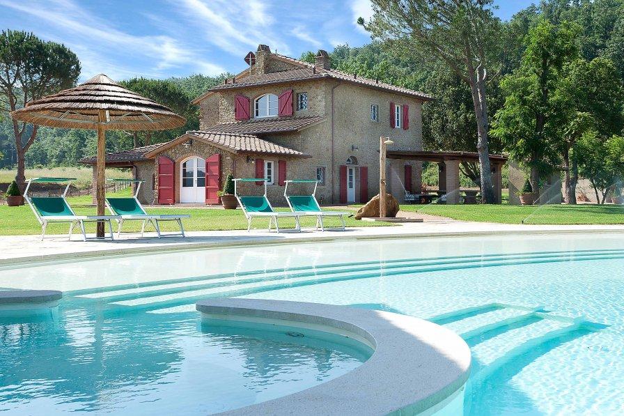 Villa in Italy, Montescudaio