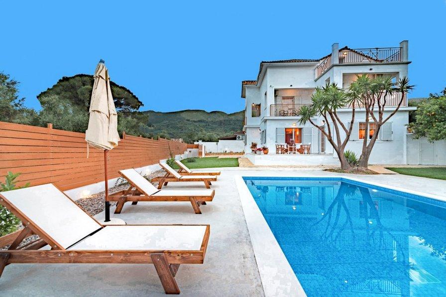 Owners abroad Villa Vougiato