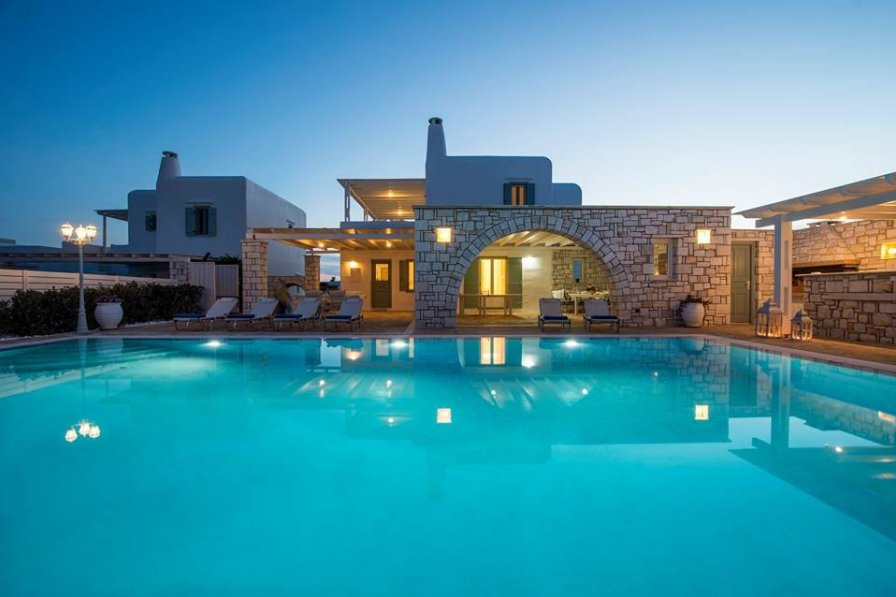 Owners abroad Villa Romina Paros