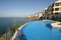 Apartment in Spain, Torrequebrada: Beachfront apartment with 180 degrees views of the Mediterranean