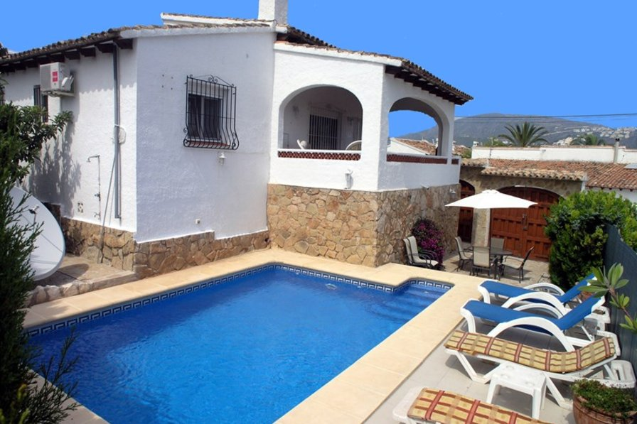 Villa in Spain, Moraira: Casa Cadiz