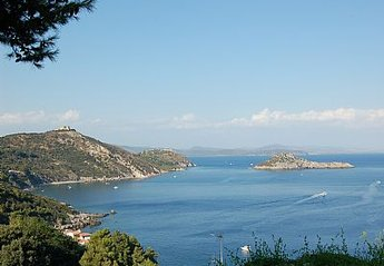 Apartment in Italy, Porto Ercole: View from the patio