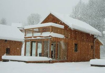 Chalet in Austria, Stadl: Cosy and warm inside with deep snow outside