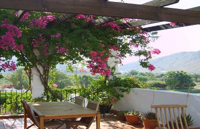 Apartment in Spain, Mojacar Playa: Spectacular views from the terrace.