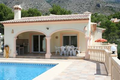 Villa in Spain, Altea La Vella: The Villa