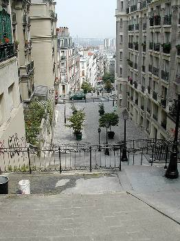Apartment in France, Montmartre: Escaliers de Montmartre