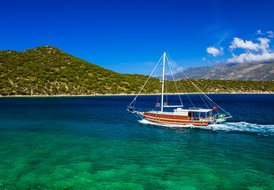 PRIVATE CREWED YACHT CHARTER IN KAS / TURKEY