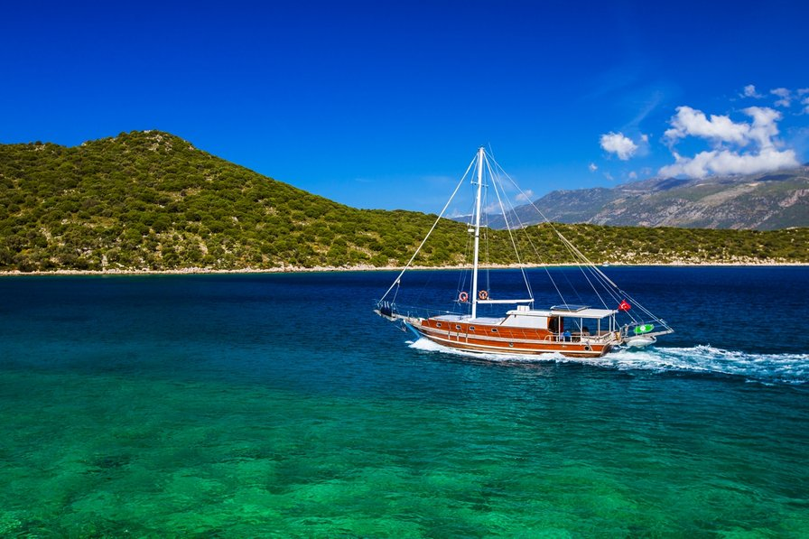 Boat in Turkey, Kas