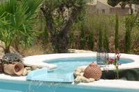 Country_house in Spain, Pinoso: WATERFALL JACUZZI