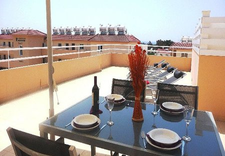 Apartment in Nissi Beach, Cyprus: Balcony