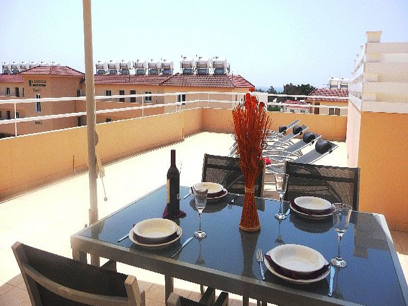 Apartment in Cyprus, Ayia Napa: Balcony