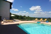 House in Italy, Castiglione Tinella: pool with terrace