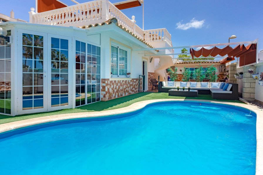 Owners abroad Palm-Mar holiday villa rental