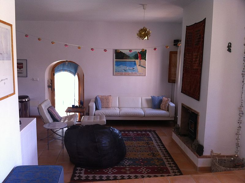 Finca in Spain, Cartagena: Living Room