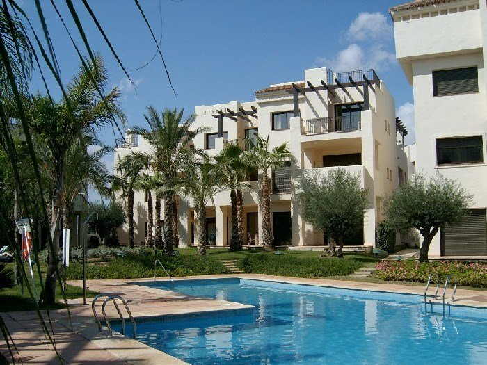 Apartment in Spain, Roda Golf Resort: 1st floor apartment with views to the pool and gardens