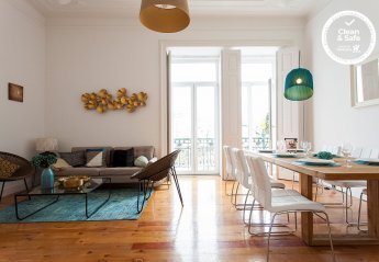 4 bedroom Apartment for rent in Lisbon