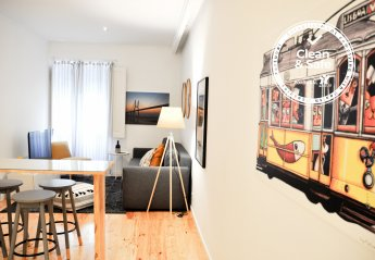 1 bedroom Apartment for rent in Central Lisbon