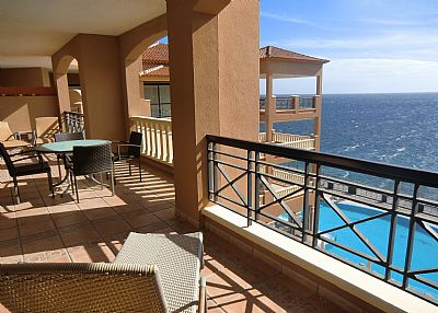 Apartment in Spain, Golf del Sur: Lovely views of the pool and sea