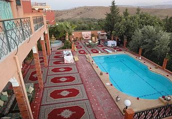 Villa in Morocco, Amizmiz: Terras and Pool